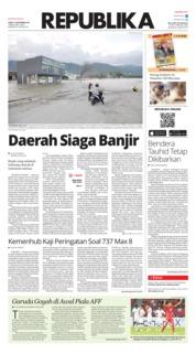 Cover Koran Republika 10 November 2018