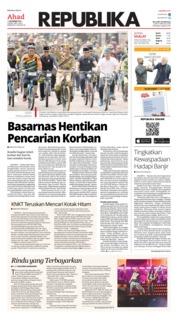 Cover Koran Republika 11 November 2018