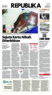 Cover Koran Republika 12 November 2018