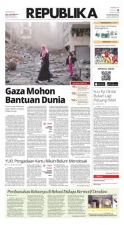 Cover Koran Republika 14 November 2018