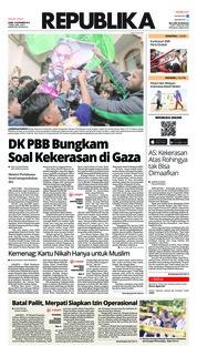 Cover Koran Republika 15 November 2018