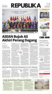 Cover Koran Republika 16 November 2018