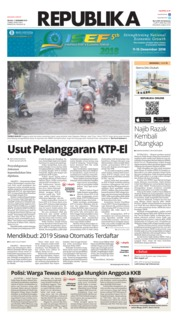 Cover Koran Republika 11 Desember 2018
