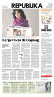 Cover Koran Republika 19 Desember 2018