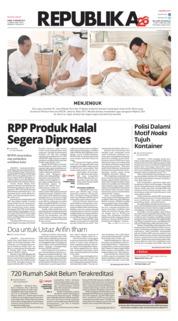 Cover Koran Republika 10 Januari 2019