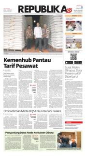 Cover Koran Republika 11 Januari 2019