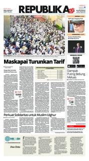 Cover Koran Republika 14 Januari 2019