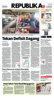 Cover Koran Republika 16 Januari 2019