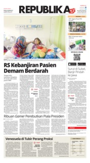 Cover Koran Republika 29 Januari 2019