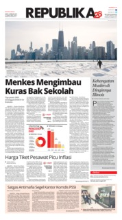 Cover Koran Republika 02 Februari 2019
