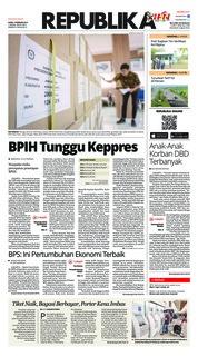 Cover Koran Republika 07 Februari 2019