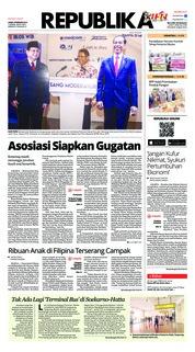 Cover Koran Republika 08 Februari 2019