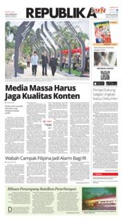 Cover Koran Republika 09 Februari 2019