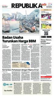 Cover Koran Republika 11 Februari 2019