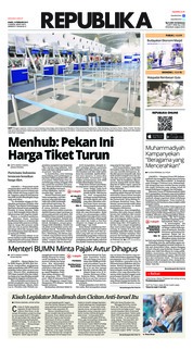 Cover Koran Republika 14 Februari 2019