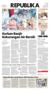 Cover Koran Republika 21 Maret 2019