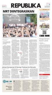 Koran Republika Cover 25 March 2019
