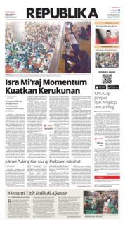 Cover Koran Republika 04 April 2019