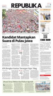 Koran Republika Cover 05 April 2019