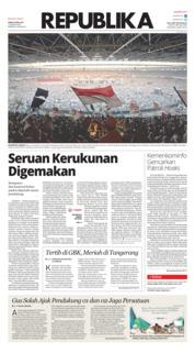 Cover Koran Republika 08 April 2019
