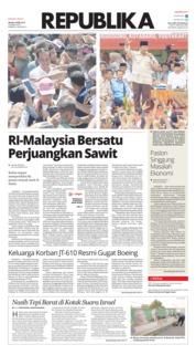 Cover Koran Republika 09 April 2019