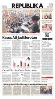 Cover Koran Republika 11 April 2019