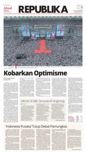 Koran Republika Cover 14 April 2019