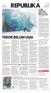 Cover Koran Republika 23 April 2019
