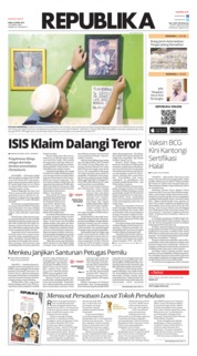 Cover Koran Republika 24 April 2019