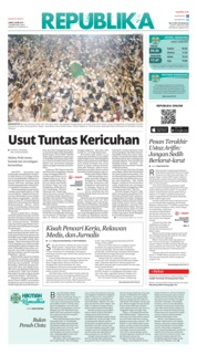 Cover Koran Republika 24 Mei 2019