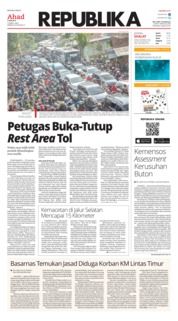 Cover Koran Republika 09 Juni 2019