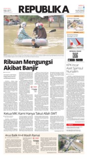 Cover Koran Republika 11 Juni 2019