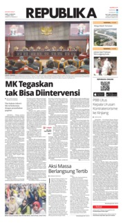 Cover Koran Republika 15 Juni 2019