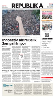 Cover Koran Republika 17 Juni 2019