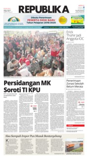 Koran Republika Cover 21 June 2019