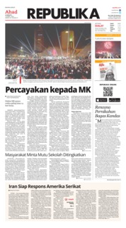 Koran Republika Cover 23 June 2019