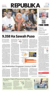 Cover Koran Republika 09 Juli 2019