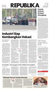 Cover Koran Republika 11 Juli 2019
