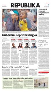 Koran Republika Cover 12 July 2019