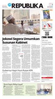 Cover Koran Republika 13 Juli 2019