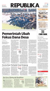Koran Republika Cover 17 July 2019