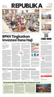 Cover Koran Republika 19 Juli 2019
