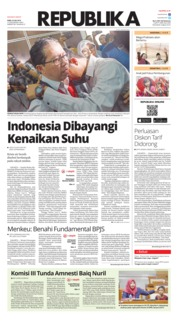 Cover Koran Republika 24 Juli 2019
