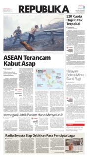Cover Koran Republika 08 Agustus 2019