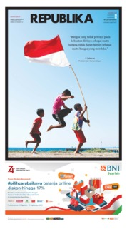 Cover Koran Republika 16 Agustus 2019