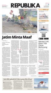 Cover Koran Republika 20 Agustus 2019