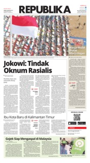 Koran Republika Cover 23 August 2019