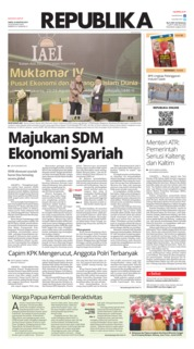 Koran Republika Cover 24 August 2019