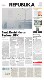 Cover Koran Republika 09 September 2019