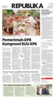 Cover Koran Republika 11 September 2019